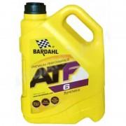 ATF 6 5л. Синтетическое трансмиссионное масло BARDAHL ATF6 для автоматический коробок переключения передач.