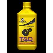 T&D synthetic oil 75W90 1 л Синтетическое масло для механических коробок передач, дифференциалов и раздаток. Максимальная защита благодаря формуле Polar Plus — Fullerene C60.
