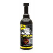 Engine Stop Leak Стоптечь двигателя. Присадка для сокращения и предотвращения потери масла по причине усыхания прокладок.  Предотвращает утечки масла. Восстанавливает сальники.
