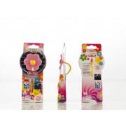 Hippy Pink Flower Power