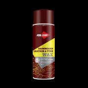 Полироль пластика и кожи AIM-ONE 450 мл (аэрозоль).Dashboard leather and tyre wax450ML DL-250