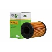 Фильтр масляный OE0033 ОЕМ 1250679; 3M216744AA; 1118184; 68001297AA; MN980125